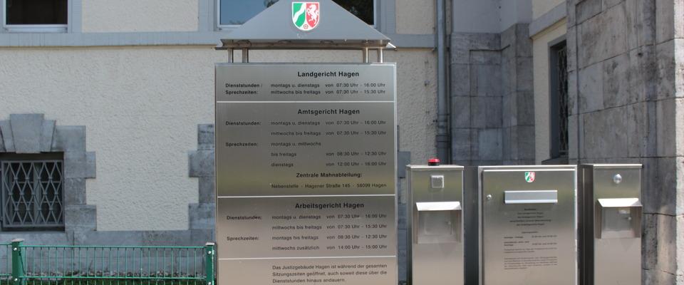 Amtsgericht Hagen Nachtbriefkasten